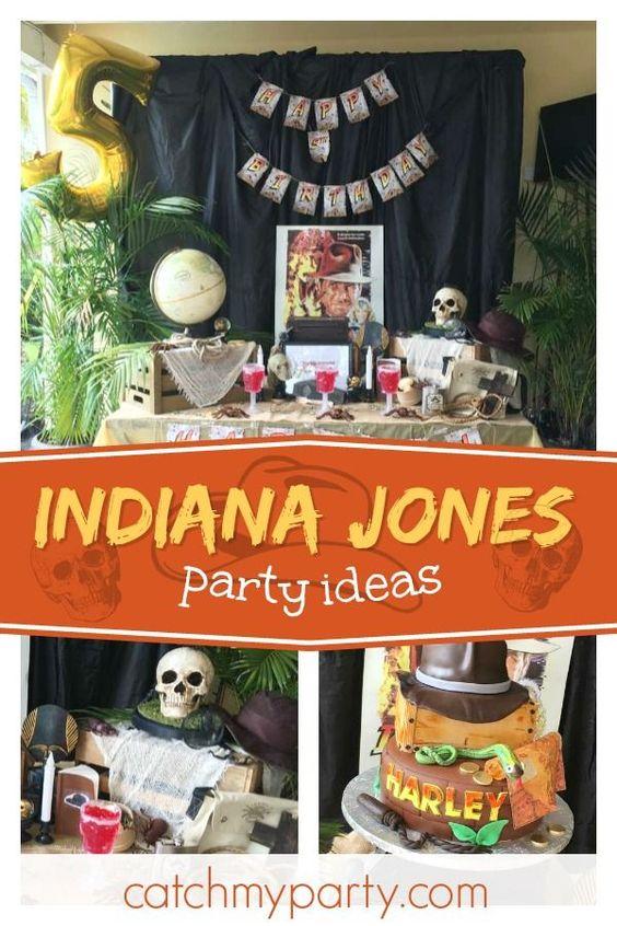 indiana jones party