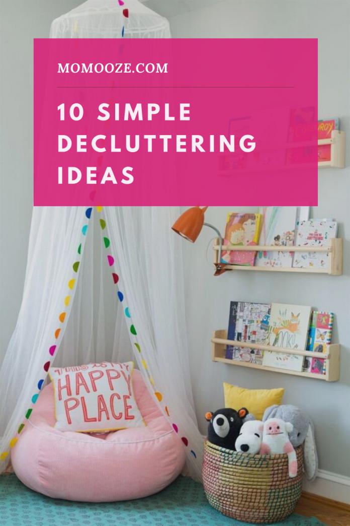 10 Simple Decluttering Ideas