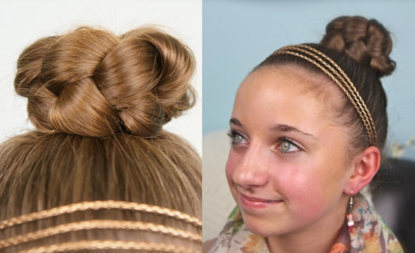 10 Quick And Easy Hairstyles For School Girls