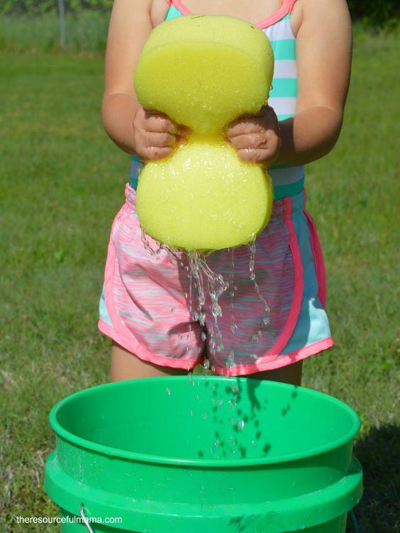 Outdoor Water Games