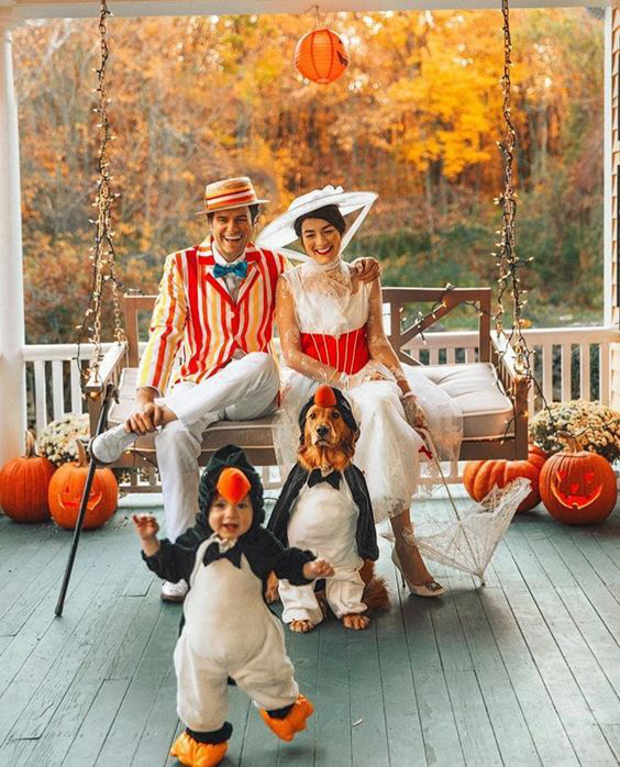 15 Outdoor Wedding Ideas That Are Totally Genius: Awesome Group Halloween Costume Ideas
