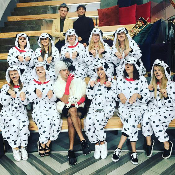 15 Awesome Group Halloween Costumes For Work