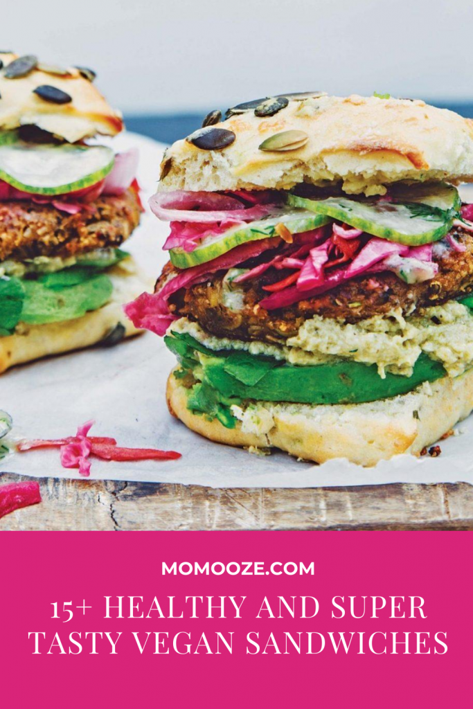 15 Healthy And Super Tasty Vegan Sandwiches