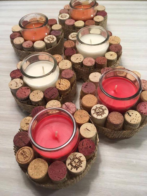 15+ creative DIY candle holders ideas