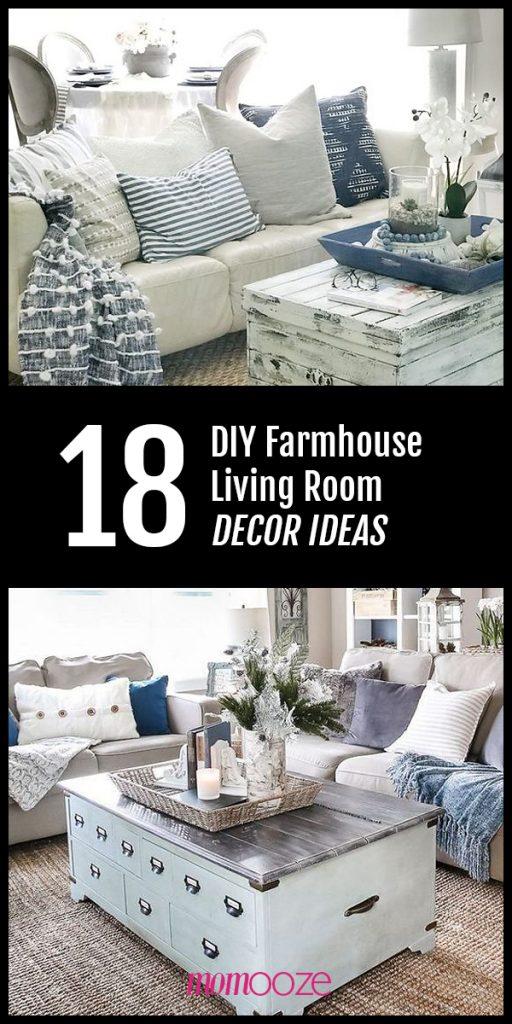 Diy Farmhouse Living Room Decor Ideas