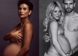 Best pregnancy photos of celebrities
