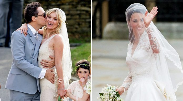 10 Absolutely Stunning Celebrity Brides
