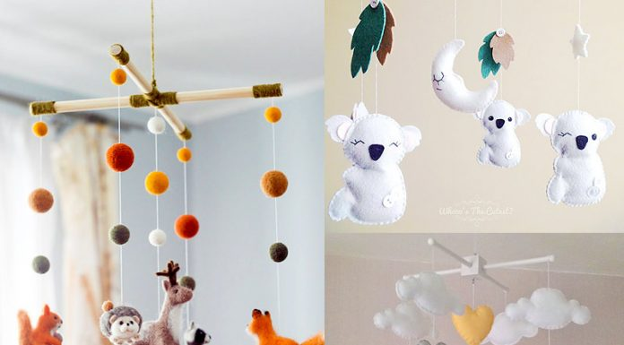 15 Absolutely Adorable Baby Mobiles