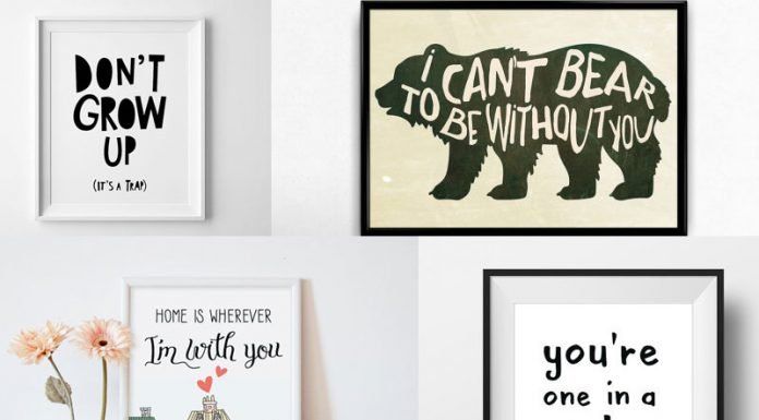Must Have Wall Arts for your Nursery