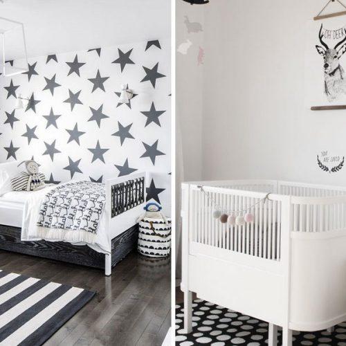 Trending now - Black and White Nursery