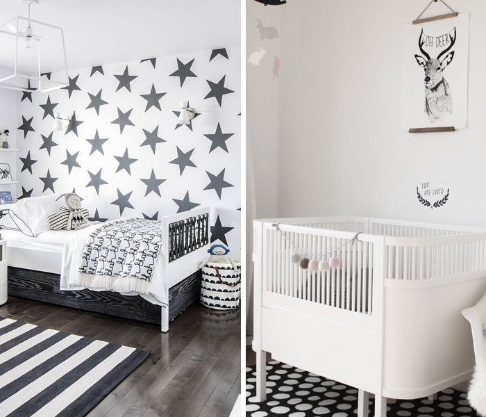 Trending now: Black & White Nursery