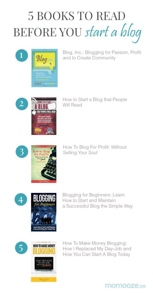 5 books to read before you start a blog