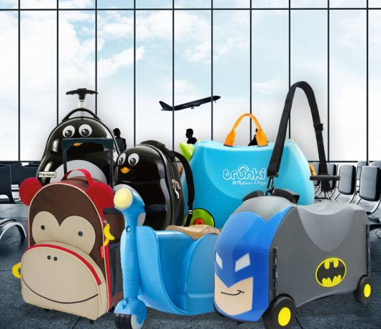 Luggage for Kids - 8 Cool Travel Essentials