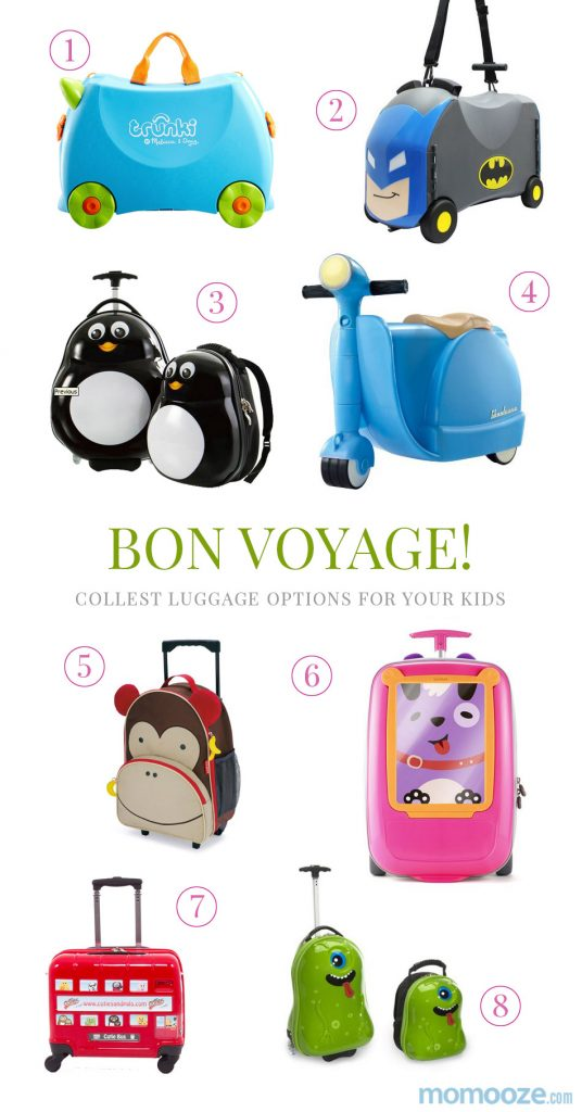 cool luggage for kids