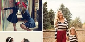 25 Adorable Mom & Daughter Outfits