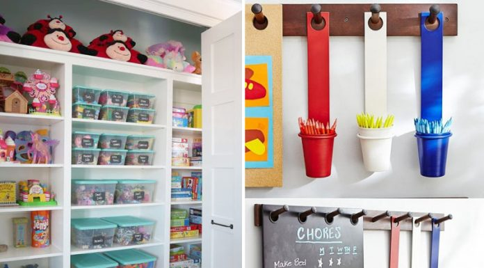 25 Ingenious Ways How to Keep Playroom Clutter Free