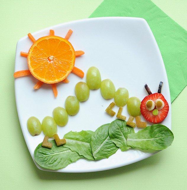 caterpillar snack