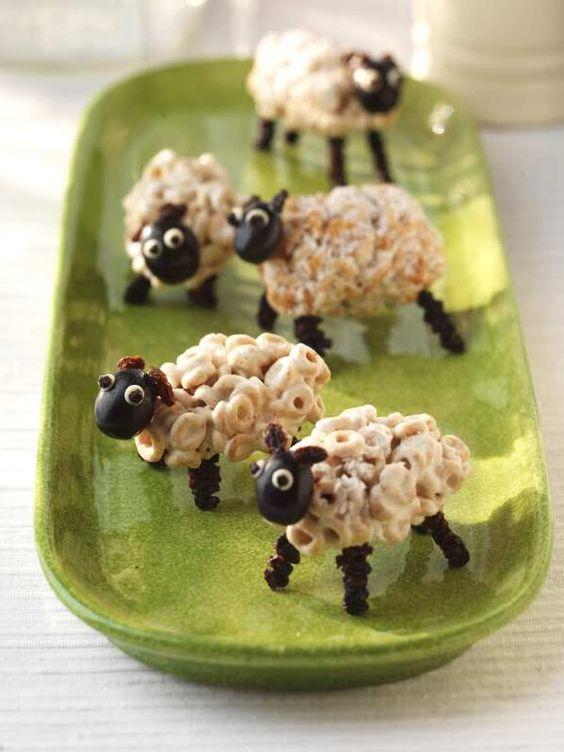 cheerios sheep