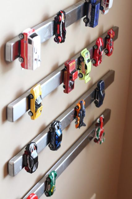 magnetic strip for cars storage