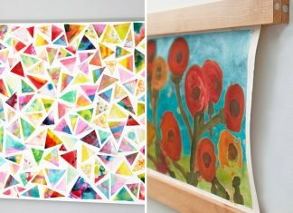 10 Easy Ways to Display Your Kids Artwork