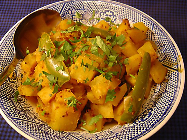 Indian Potatoes with Mustard Seeds