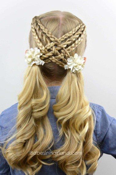 pretty hair styles for girls 2