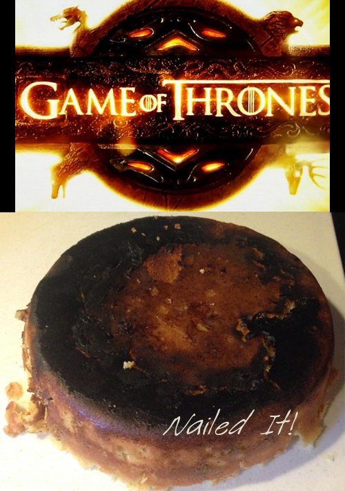 game of throne cake fails