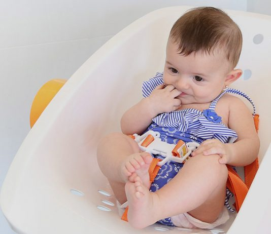 CharliChair - the stress-free and pain-free answer to infant bathing woes