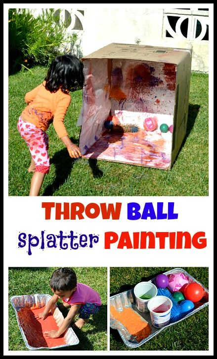 25 summer outdoor activities for active toddlers momooze for Best paint for outdoor crafts