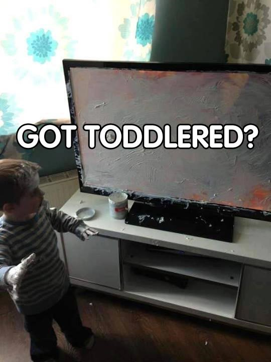 toddlered
