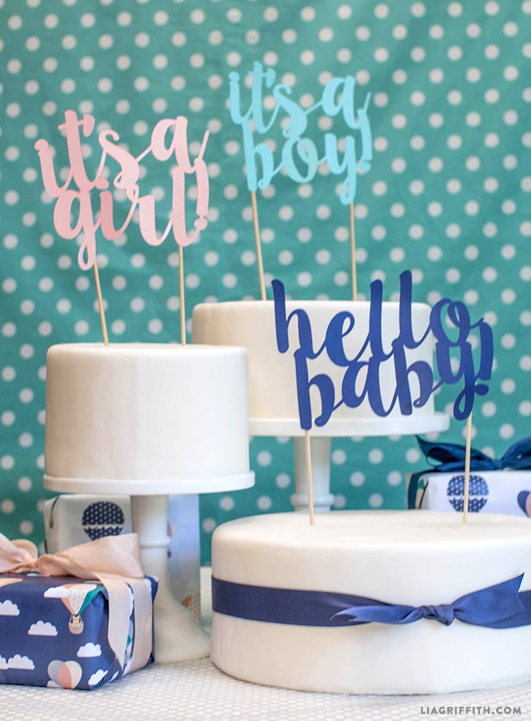 50 free baby shower printables for a perfect party for 3d printer cake decoration