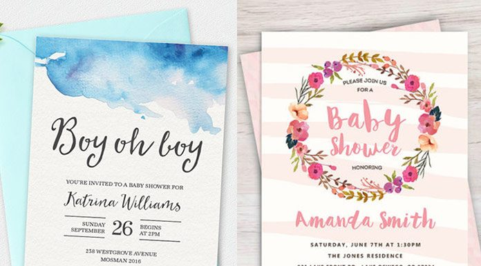 100+ printable baby shower invitations
