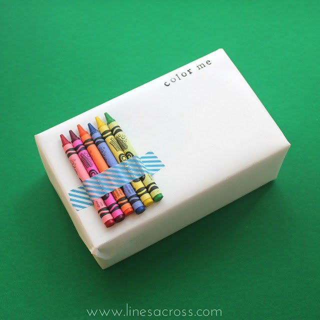 gift wrapping for kids