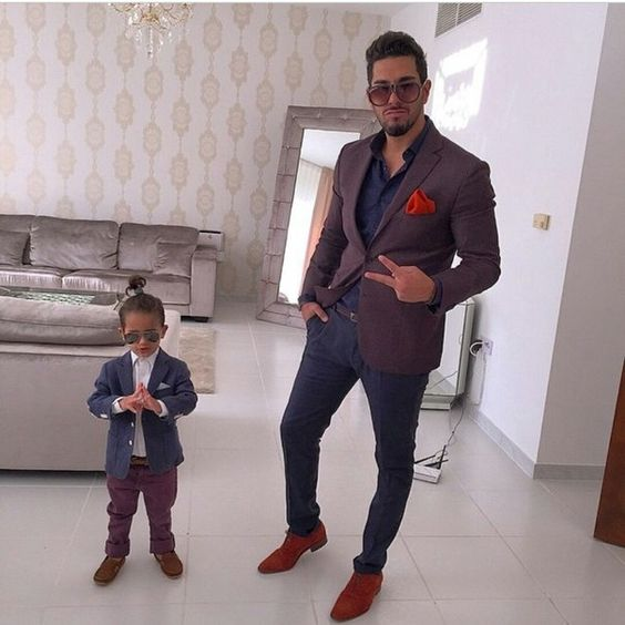 12 Coolest Matching Father Amp Son Formal Outfits Momooze