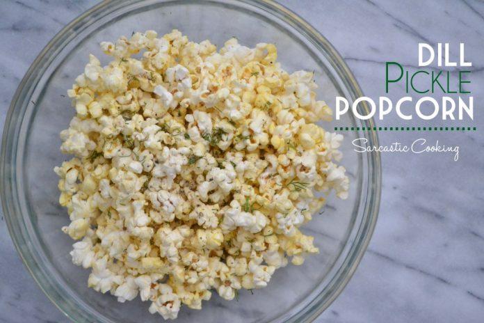 gourmet popcorn recipe