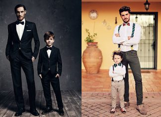 Matching Father & Son Formal Outfits