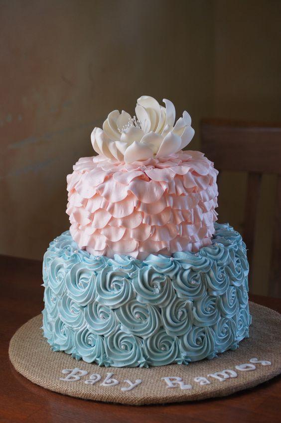 gender reveal cakes