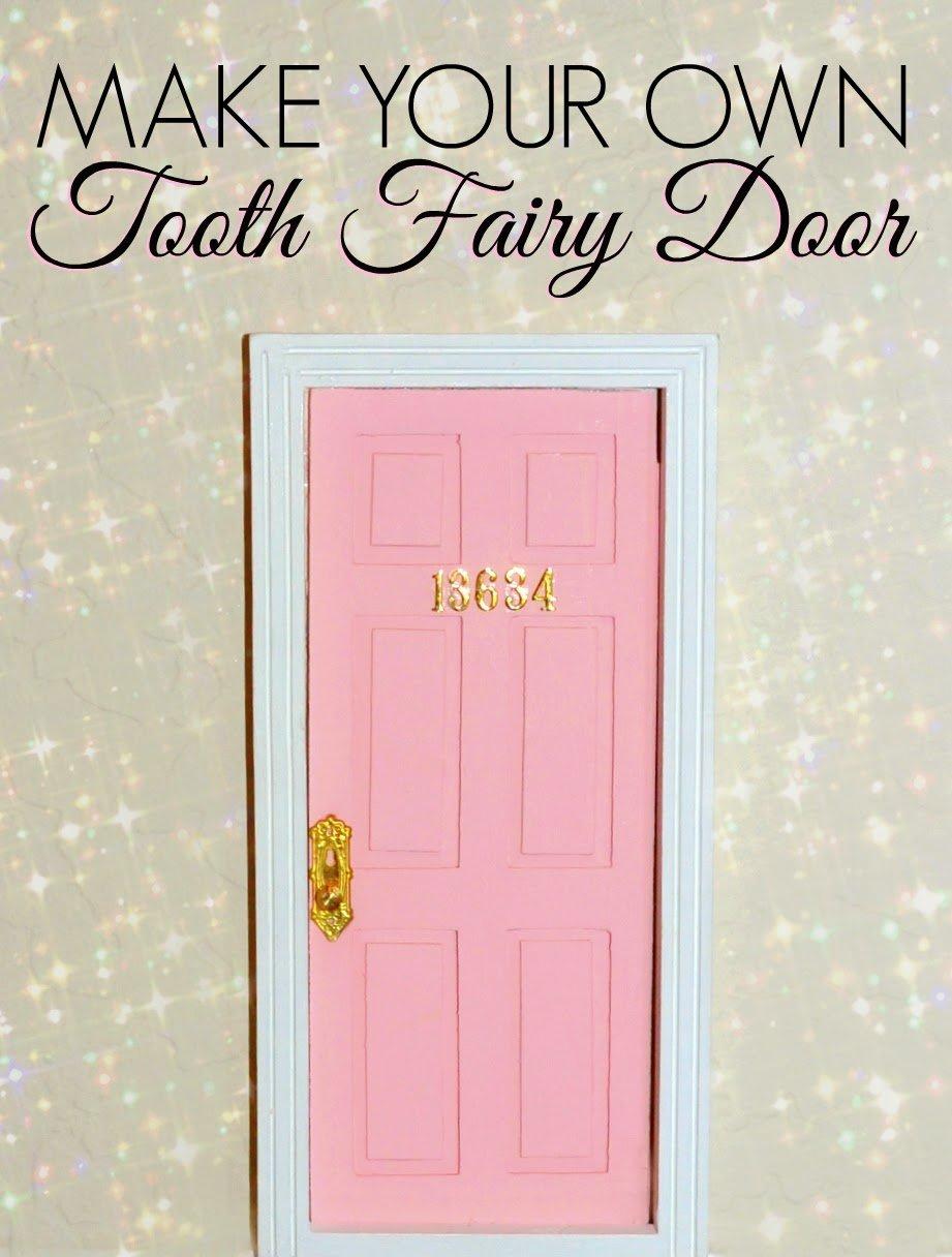 25 genius tooth fairy ideas free printables momooze for Homemade elf door