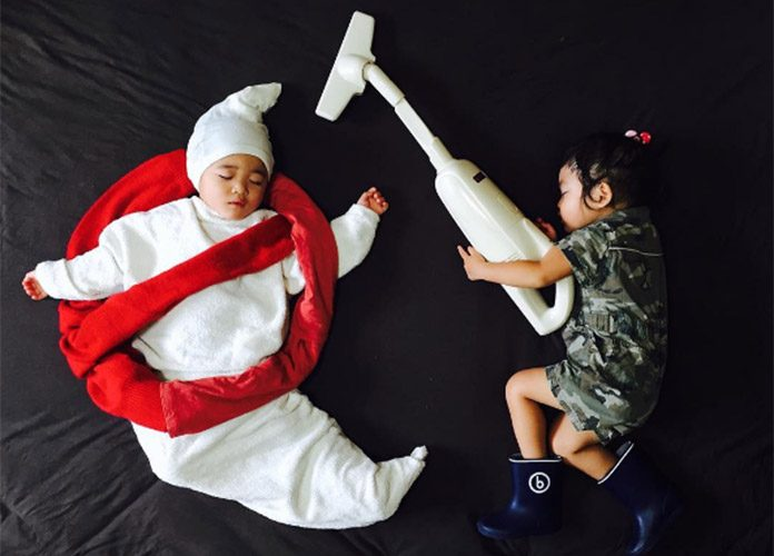 Watch these Twins Venture on Amazing Adventures in their Sleep