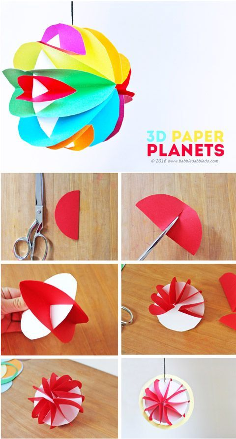 50 creative crafts to keep your kids busy for Creative craft ideas with paper