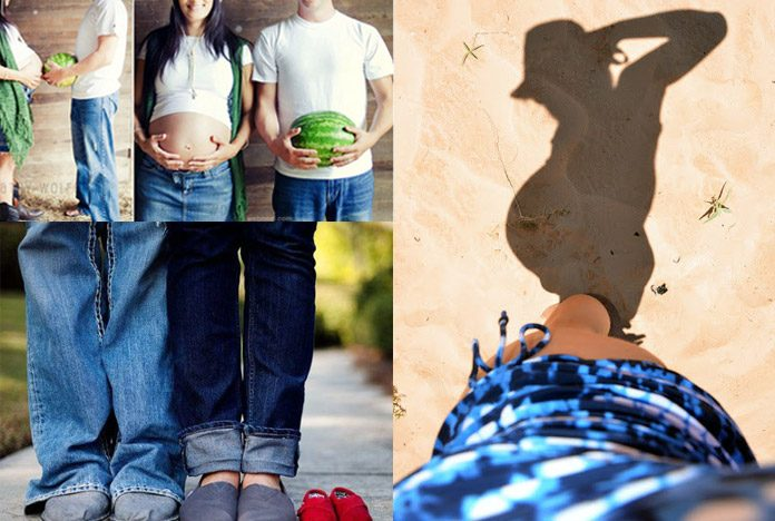 20 Original Creative Ideas For Maternity Photoshoot