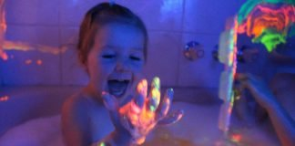 bath time activities