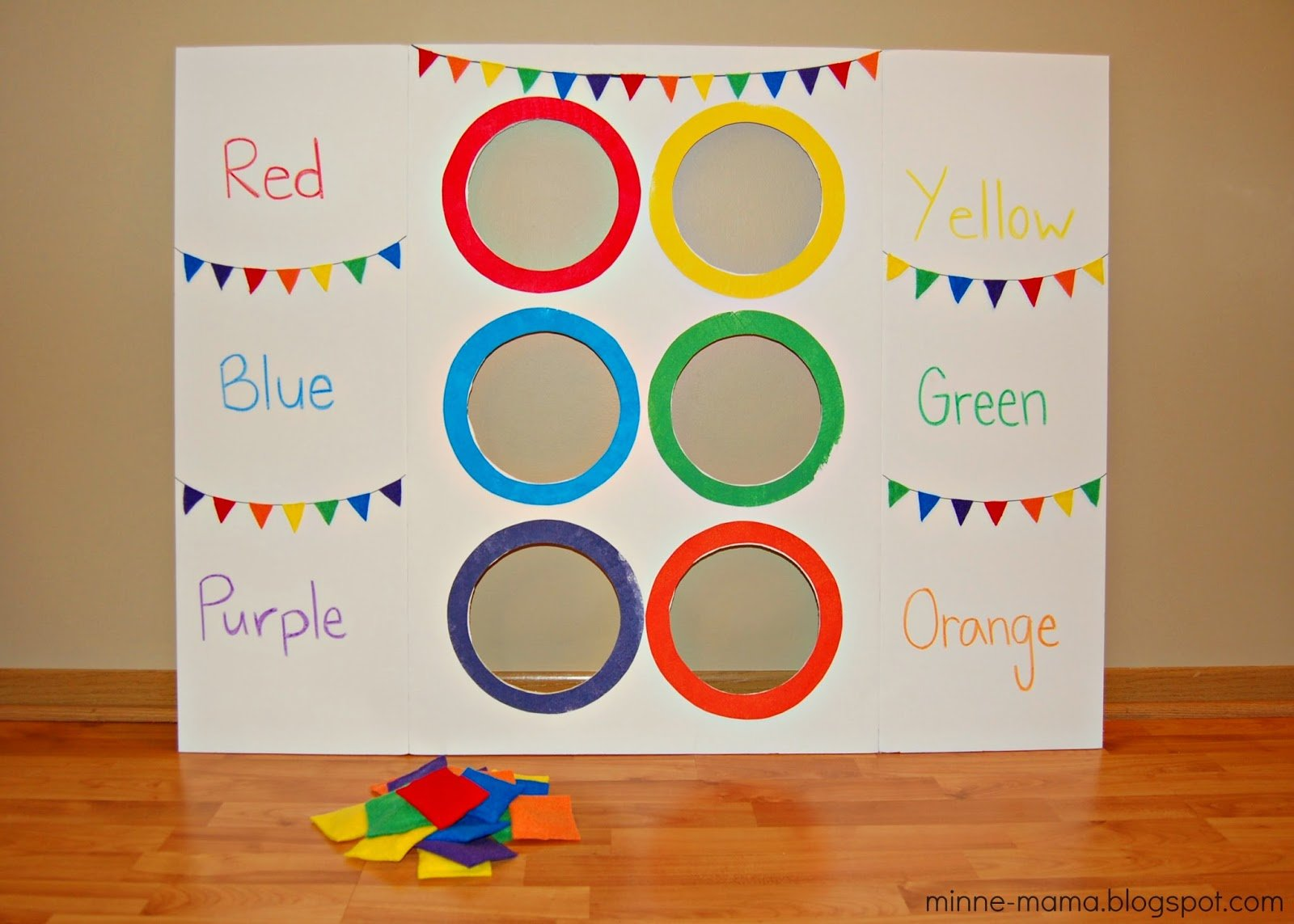 10 fun ways to teach your kids colors momooze for Jardin 7 colores