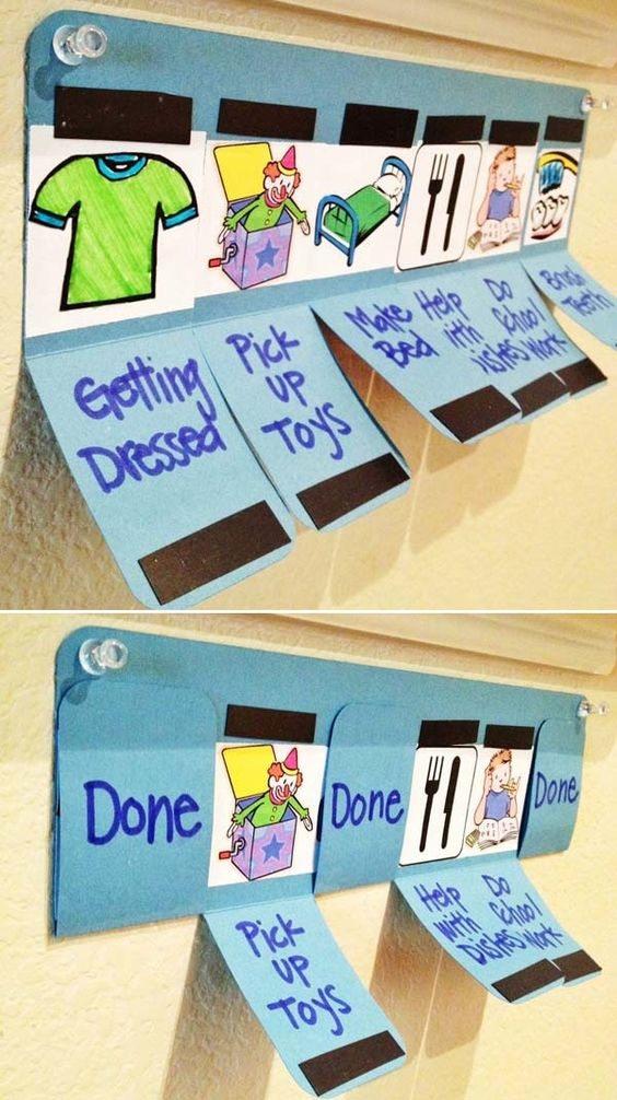 How to Make Chores Fun - 10+ Super Easy DIY Chore Charts for Kids ...