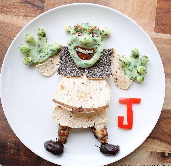 This Mum Creates Amazing Food Art