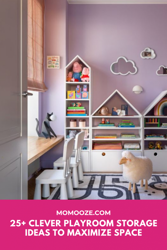 Clever Playroom Storage Ideas To Maximize Space