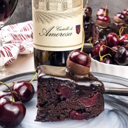 Desserts with wine