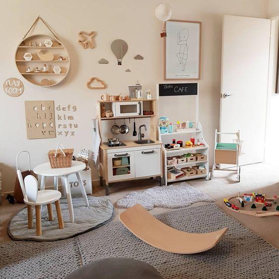 28 coolest playroom decor ideas balance board momooze.com online magazine for moms