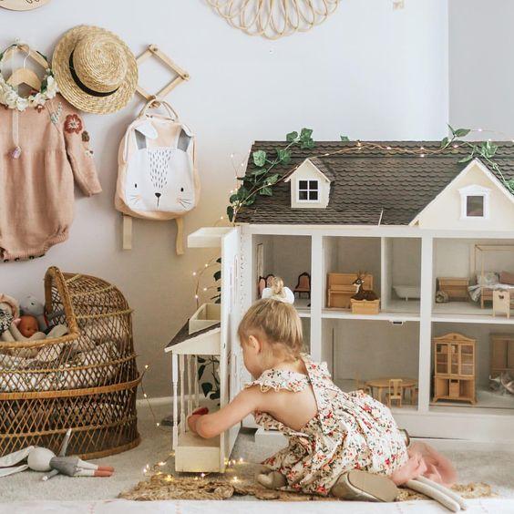 28 coolest playroom decor ideas boho dollhouse momooze.com online magazine for moms