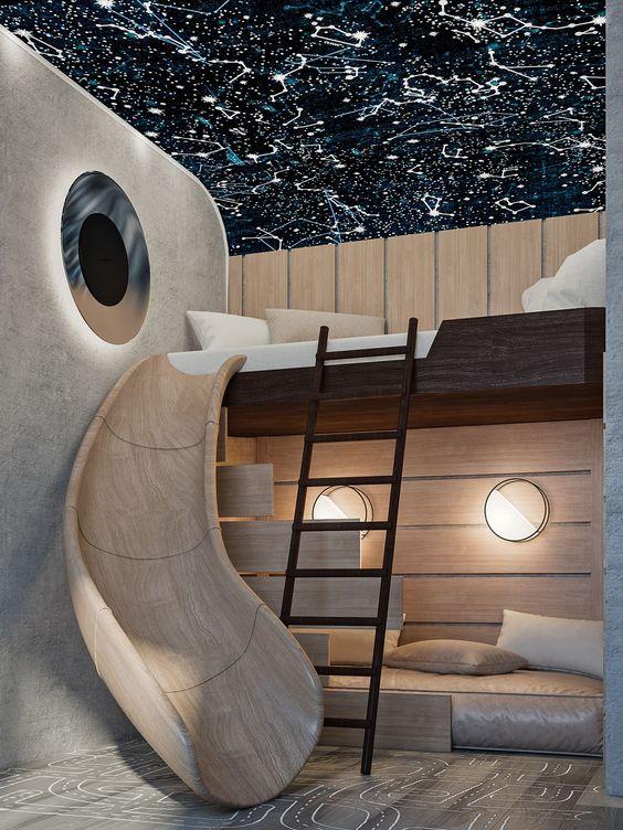 28 coolest playroom decor ideas children modern slide design momooze.com online magazine for moms
